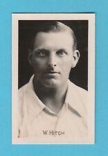 CRICKET - CHUMS -  SCARCE CRICKET CARD  -  J.  W.  HITCH  OF  SURREY  -  1922