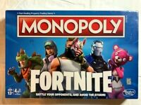MONOPOLY - FORTNITE VIDEO GAME EDITION BOARD GAME NEW IN PLASTIC