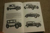 Sammlerbuch Oldtimer 1885-1840, Horch, Maybach, Mercedes, Tatra, Bugatti,Daimler