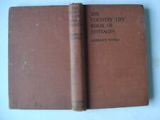Lawrence Weaver The Country Life Book Of Cottages Second Edition Revised 1919