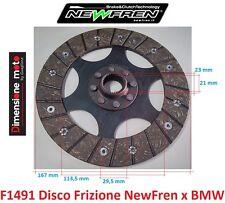 """F1491 - DISCO FRIZIONE """"NewFren"""" per BMW R 100 R 1000cc dal 1991 al 1995"""