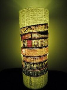 Book Stack Paper Lantern No.115, writing gifts, librarian gifts, book club gifts