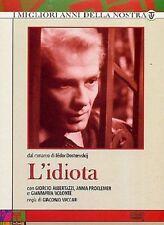 Dvd L'IDIOTA - (1959) (3 Dischi) RAI-ERI ......NUOVO