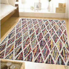 BRIGHT COLOURFUL MOROCCAN STYLE DESIGN MODERN FLOOR RUG 160x230cm  T3 **NEW**