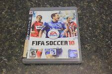 FIFA Soccer 10 (Sony PlayStation 3, 2009) 10643 LOC.BY8C