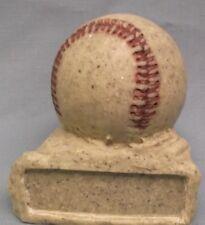 Baseball ball award trophy resin rock Gr015