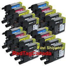 20 Pk LC75 LC-75 Ink Fits Brother MFC-J280W MFC-J425W MFC-J430W MFC-J435W