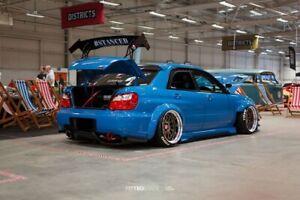 Subaru Impreza GD Top Secret look rear bumper diffuser / undertray