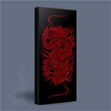 Dragón chino moderno lienzo de símbolo de buena fortuna Impresión Foto Arte Williams