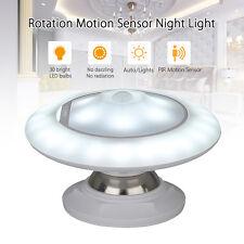 360 Degree Rotation Motion Sensor Night Light Rechargeable Protable For G0