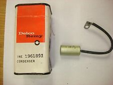 NOS GM Delco 1966-1969 Chevrolet Generator Condenser Capacitor