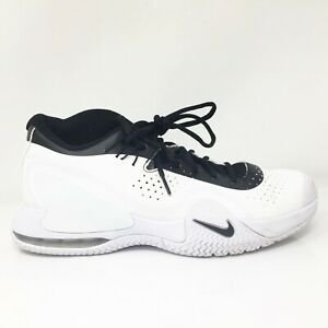 Nike Mens Court Tech Challenge 20 BQ0234-102 White Running Shoes Lace Up Sz 9.5