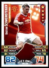 Match Attax 2015-2016 Bastian Schweinsteiger Manchester United No. 178