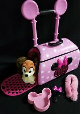 New listing Roll Around Disney Minnie Mouse Popstar Pet Carrier Plush Dog Fifi Food Bowl