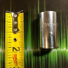 "SNAP ON SES221 1/2"" Drive SAE #22 11/16"" Hex, Shallow Spline Socket MIL-SPEC USA"