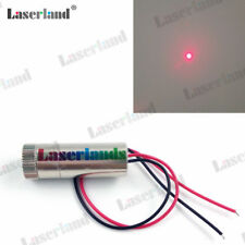 5pcs Laserland 1235 50mW 650nm 660nm Focusable Red DOT Laser Diode Module 3-5VDC