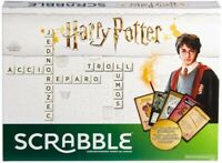 Harry Potter Scrabble  - Officially Licensed Family Board Game NEW Sealed