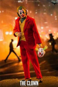 FILIX TOYS 1/12 Arthur Fleck Joker Joaquin Phoenix Action Figure W/ 4pcs Head