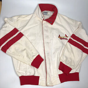 Vintage Swingster St Louis Cardinals White Letterman Coat Jacket Varsity Large