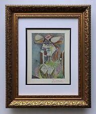 Pablo Picasso Original 1948 Hermoso Firmado Estampado Mate 11 X 14 + Desde