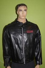 SABOTAGE vintage 90th Clubwear House Techno Love Parade KUNSTLEDER Gr.L Jacket