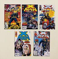 Lot 16 XMan Marvel Comic Books 1 2 3 4 5 25 52 54 55 56 57 63 64 66 67 70 VF