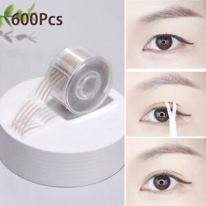600Pcs Eyes Eyelid Sticker Double Eyelid Tape Fold Self Adhesive StickerB.mc