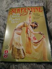 SERPENTINE BELLY DANCE with rachel brice  DVD  2 disc set pre-owned