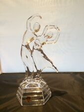 RCR 24 % Lead Crystal Art Deco Style Couple Dancing The Bolero(in Original Box)