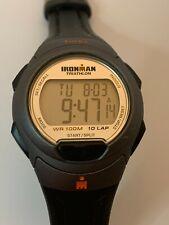 New listing Working Men's Black and Grey Timex Ironman Triathlon Watch AM