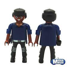 Playmobil ® motivo personaje: afro Undercover policía | Police con sobaquera