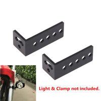 2x Dachträger Montage Halterung für Auto Jeep Lkw LED Zusatzscheinwerfer Schelle