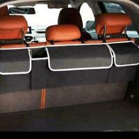 Car Interior Accessories Back Seat Storage Box Bag Oxford Organizer Trunk P2M4