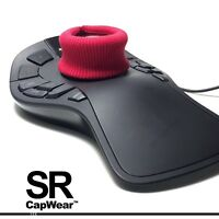 CapWear SR [ RED+ ] for 3Dconnexion SpaceMouse, SpaceNavigator, SpacePilot &more