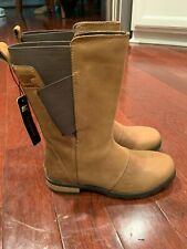 Womens Sorel Waterproof Boots NL2679 Emelie Brown Size 5