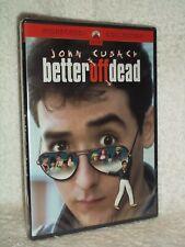 Better Off Dead (Dvd, 2002, Sensormatic) Diane Franklin Kim Darby John Cusack Ne