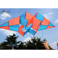 NEW 1.9m power box 3D kite /single line RED high Quality Outdoor fun Sports