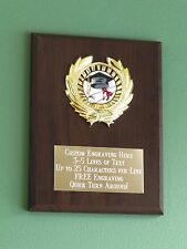Graduation/Education/Degree Award Plaque 6x8 Trophy FREE custom engraving
