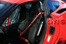 C7 Corvette RED Seat Belts for Stingray, Z06, Grand Sport COUPE
