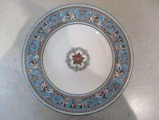 Wedgwood Florentine Turquoise 1 x 23 Cm Plates Good Condition Used