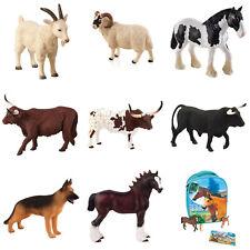 ANIMAL PLANET Farm Life Toy Figures - 10 Styles