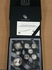 2013 United States Mint Limited Edition Silver Proof Set - Priced per Set
