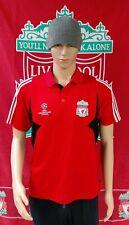 Liverpool (Official Champions League) Adidas Football Polo Shirt (Adult Medium)