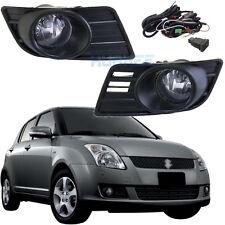 Bumper Car Fog Lamp Lights For Suzuki SWIFT 2007 ~ 2010 One Pair w/Switch +Frame