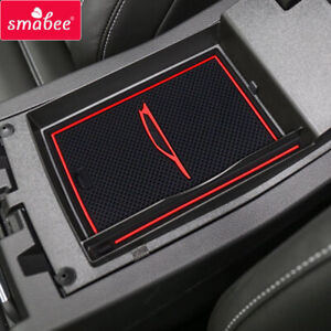 Car Gate Slot Cup Pad for Ford Escape 2017 2018 2019 KUGA Door Pad Non-slip Mats