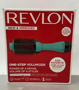Revlon RVDR5222TURQ Salon One Step Volumizer Hair Dryer - Turquoise
