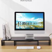 3 Shelves Monitor Stand Desktop Stand Storage Organizer for iMac,Printer