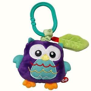 Fisher Price Woodland Owl Jitter Toy