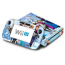 Skin Decal Cover for Nintendo Wii U Console & GamePad - Frozen