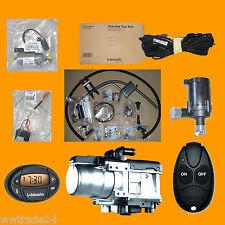 Standheizung Webasto Thermo Top EVO 4 Benzin + UNI-PKW-Bausatz + Uhr + FB T91